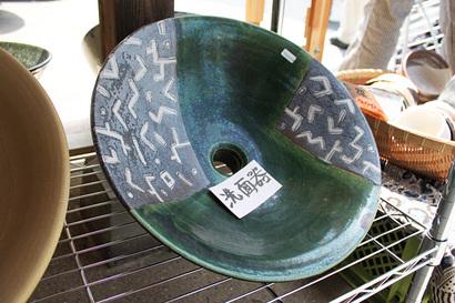 磁器の洗面器