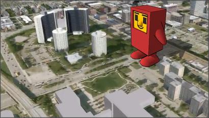 Google 3D 都市開発プログラム