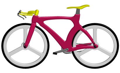 ロードバイク(色違い)