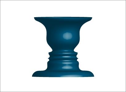 立体的なルビンの壺