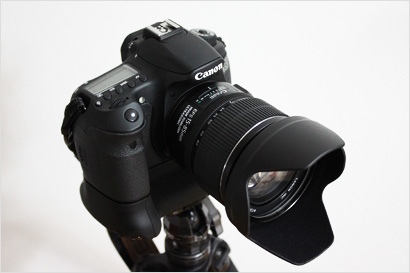 EOS 60D+バッテリーグリップ