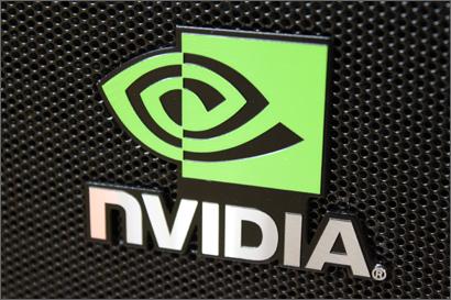 NVIDIAロゴプレート
