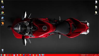 Windows7のデスクトップ画面