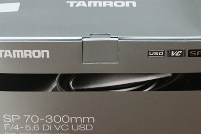 TAMRON SP70-300mm F4-5.6 Di VC USD
