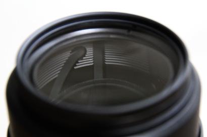 レンズの前玉部分
