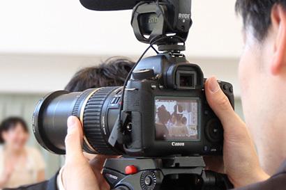 一眼レフカメラでのムービー撮影